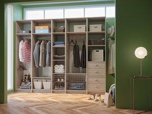 Заказать гардеробные системы в Вологде