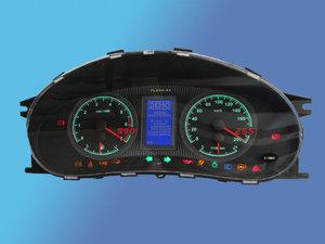 В Новокузнецке в наличии!! Электронная комбинация приборов FLASH Х4 предназначена для установки на автомобили ВАЗ 2170-71-72 (Лада Приора), ВАЗ 1117-18-19 (Лада Калина), ВАЗ 2110-11-12 (новая панель).