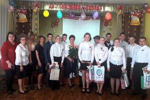 Сотрудники налоговых органов региона поздравили выпускников Новогуровской школы-интерната с окончанием школы