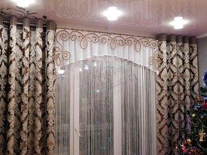 Свежие фотографии наших работ со шторами для гостиной