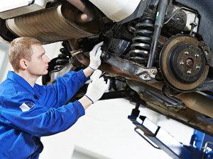 Диагностика и замена подвески автомобиля