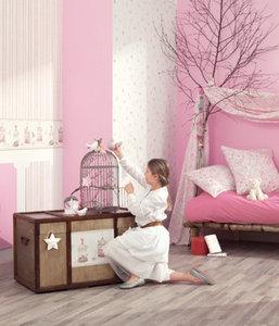Где купить обои для детской? Caselio - коллекция обоев «Только для девочек» в салоне «Модные обои»