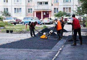 Проведение ремонта дворов в Вологде.