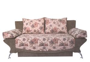 У нас вы можете купить классический мягкий диван с механизмом трансформации-книжка