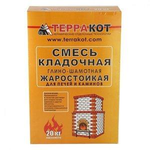 Купить смесь кладочная глино - шамотная терракот в Вологде