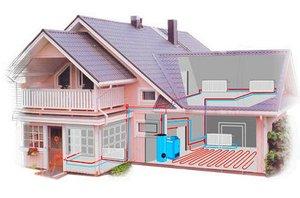 Газовое отопление дома устанавливайте своевременно!