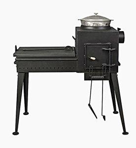 Купить печь-мангал «Буран2» скрышкой вВологде