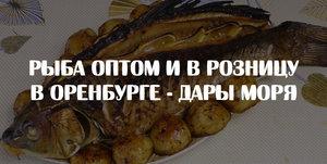 Вкусная и свежая рыба в Оренбурге - Дары моря