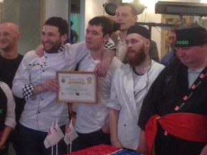 1-е место по Красноярску среди сушистов города на мероприятии от копании ResFood!