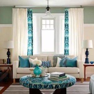 Как правильно сочетать текстиль – шторы, ковер, подушки