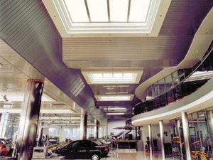 Универсальный алюминиевый реечный потолок по Вашим размерам!