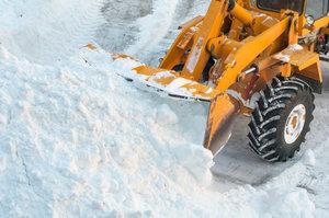 Уборка снега в Вологде