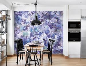 Цветариум – фрески и фотообои в оформлении интерьера