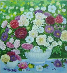 Картины с цветами.