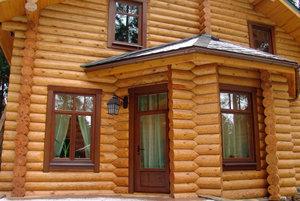 Купить окна в деревянный дом