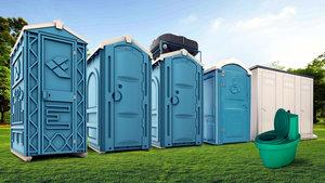 Туалетная кабинка в аренду. Обращайтесь!