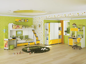 Безопасная и удобная мебель для детской комнаты