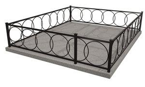 Заказать металлическую ограду в Вологде