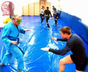 Открытая тренировка по спортивному ножевому бою