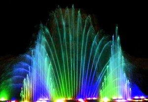 Хургада. «Танцующие фонтаны» в комплексе GOLDEN 5