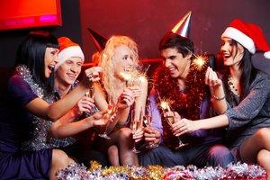 Новогодний корпоратив. Корпоратив на Новый год в кафе-ресторане
