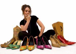 Обувь больших размеров: как визуально уменьшить ножки?