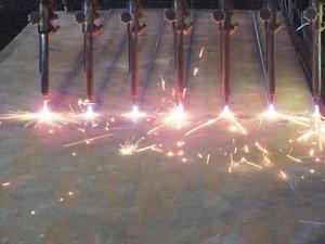 Производство сварной двутавровой балки на автоматизированной линии в Оренбурге