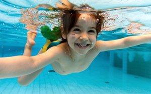 Плавание для детей. Детский бассейн в Вологде