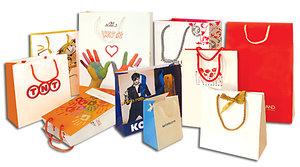 Заказать бумажные пакеты с индивидуальным дизайном
