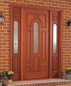 Входные деревянные двери от производителя