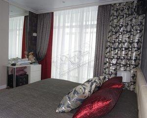 Заказать стильные шторы в спальню в Вологде
