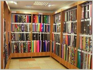 Большой выбор тканей для штор в салоне-ателье «Одежда для окон»