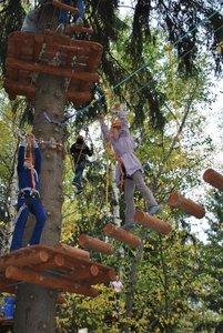 Посетите наш веревочный парк!
