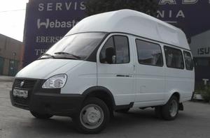 Перевозка людей на микроавтобусе в Орске