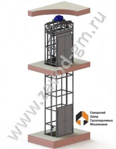 Грузовой шахтный подъемник в наличии на складе