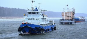 Поставка дизтоплива для речного судоходства