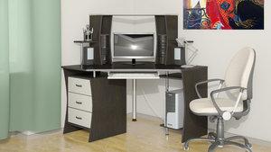 Купить удобный компьютерный стол недорого