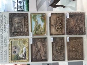 деревянные резные картины