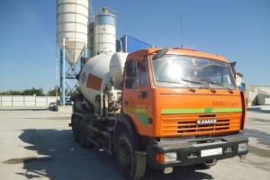 Доставка сыпучих материалов по Крыму, Бетон от производителя!