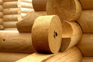 Купить джут для утепления деревянных домов