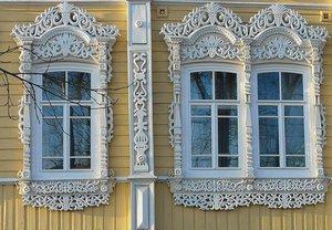 Купить деревянные наличники в Вологде