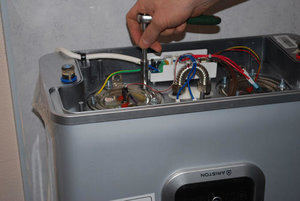 Профессиональный ремонт электрических водонагревателей Аристон (Ariston) в Туле