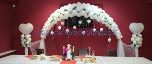 Оформление зала шарами: понравится взрослым и детям!