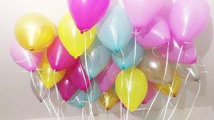 Воздушные шары в ассортименте: также надуваем гелием!