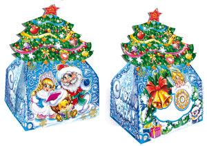 Новогодняя упаковка для подарков оптом
