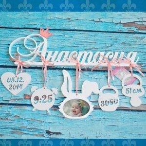 Вы ищете подарок на рождение ребенка? Метрика с именем младенца – это лучший подарок.