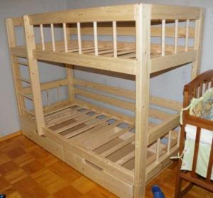 Двухъярусная кровать «EcoSkarb RU»
