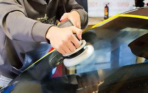 Полировка лобового стекла - восстановление прозрачности без ущерба прочности