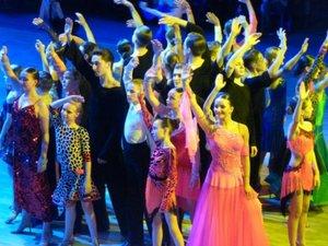 """23 апреля состоялось грандиозное """"Танцевальное шоу"""" с участием ЧЕМПИОНОВ МИРА И ЕВРОПЫ"""