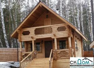 Дом из бревна ручной рубки 120 м2 за 1,9 млн руб.